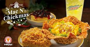 popeyes introduces new mac n mas waffle bowl along with you can use till january 7