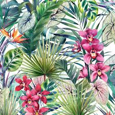 strata aloha tropical multi removable wallpaper sle