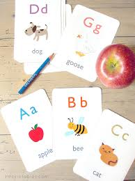 Alphabet Flash Cards  Mr PrintablesMake Flashcards With Pictures