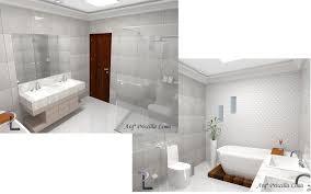 Modern bathroom by arqª priscilla lima modern   homify