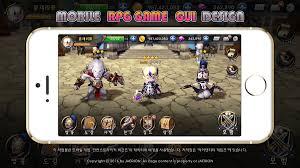 Rpg Game Ui Design Mobile Rpg Game Ui Design On Behance