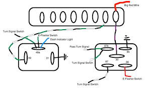 universal turn signal flasher wiring diagram images turn signal flasher relay wiring diagram furthermore led turn signal
