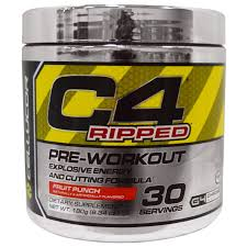 cellucor c4 ripped pre workout fruit punch 6 34 oz 180 g