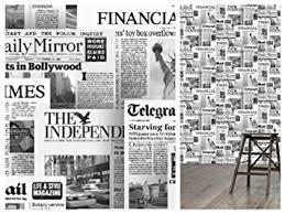 Illusion Newspaper Wallpaper 20600