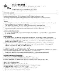 Music Resume Resume Cv Cover Letter