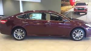 David's 2015 Toyota Avalon XLE Touring by Gerald - YouTube