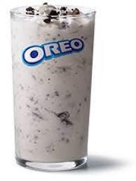 Mcdonalds Drink Calorie Chart Mcdonald S Mcflurry With Oreo Cookies Calories Nutrition