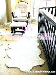 white fur carpet big rug large sheepskin animal rugs round small faux pink furry la