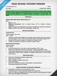 High School Student Resume Objective Resume Objective For High