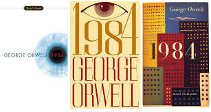 book covers for george orwell s book 1984