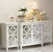 remarkable intended for sideboards stunning glass front buffet sideboard metal and glass glass buffet white lacquer