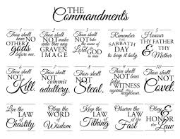 10 Commandments Colouring Pages Raovat24hinfo