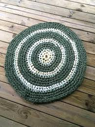 image 0 rag area rug blue green gables crochet round chic hippie large rugs recycled cotton