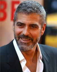 Het Haar Van George Clooney Q In 2019 Mannen Kapsels Grijs