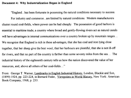 why did the industrial revolution began in england essay write why did the industrial revolution began in england essay
