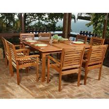 Lido Outdoor Indoor Square Table Set 9 pc Sam s Club