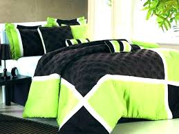green and black bedding sets lime duvet cover new quilt trend