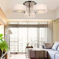 modern lighting fixtures for living room. loco acrylic chandelier with 3 lights (chrome finish) flush mount chandeliers modern ceiling light lighting fixtures for living room r