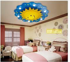 lighting kids room. Free Shipping Children Ceiling Lamps Kids Bedroom Light Cartoon Sun Design LED Source Lighting Room T