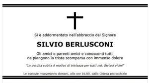 Rita Dalla Chiesa e Silvio Berlusconi morto