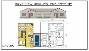 below are the skye view heights floor plans
