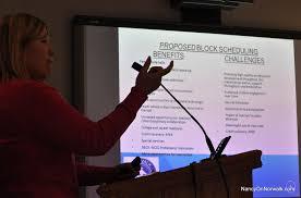 Block Scheduling Colleges Norwalk Boe Approves High School Block Scheduling In 2016 17 Nancy