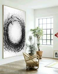 large abstract art hand made acrylic painting minimalist art abstract painting on canvas