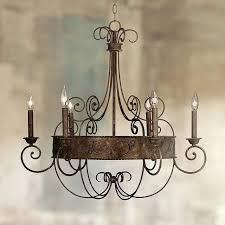 chandeliersfranklin iron works chandelier wide rust candelabra y21 lamps plus swirl