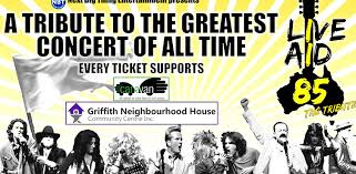 LIVE AID 85 - THE TRIBUTE :: Griffith Regional Theatre
