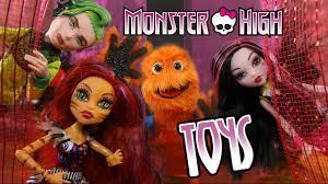 monster high draculaura doll vol full webisodes frankiestein wolf costume makeup tutorial