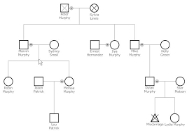 template for genogram in word 6 genogram templates formats examples in word excel throughout