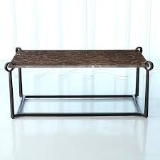 bronze coffee tables global views studio a bronze marble and bronze clamp coffee table round bronze
