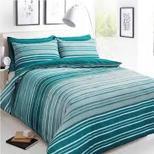pieridae stripe duvet set bed quilt cover reversible pillowcase texture teal super king size 279844 p5572 15306 image jpg