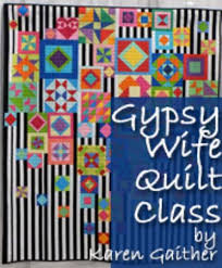 Gypsy Wife Quilt Pattern Delectable Gypsy Wife Quilt Class Cabbage Rose Quilting And Fabrics Bundles