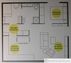 605 sq ft floor plan by IKEA