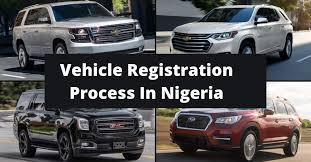 vehicle registration process in nigeria