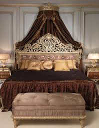 Louis Xv Bedroom Furniture Emperador Gold In Louis Xv Bedroom With Carved Bed Vimercati