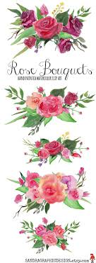 Hand painted roses, by SandraGraphicDesign