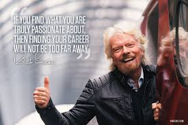 find your passion virgin richard branson photoquote