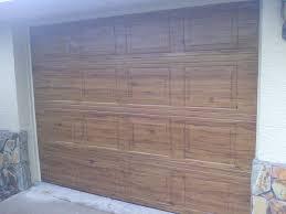small garage doorFaux Wood Doors  Ocala Faux Finish