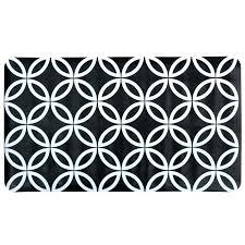 black and white bath rug black and white bath mat new contemporary geometric circles pattern inside black and white bath rug