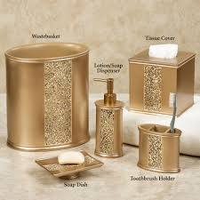 bathroom accessory sets touch of class prestigue lotion soap dispenser champagne gold bathroom light fixtures