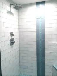 installing subway tile in shower installing subway tile in shower shower shower subway tile dark grout