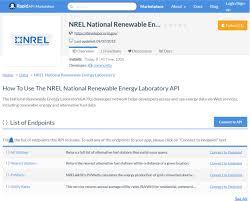 Nrel Organization Chart Nrel Alternative Fuel Stations Api Overview Documentation