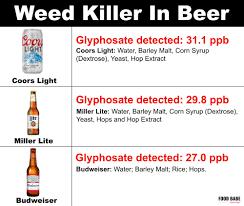Bud Light Vs Miller Lite Ingredients Breaking Roundup Found In Beer Wine Samples See The Brands