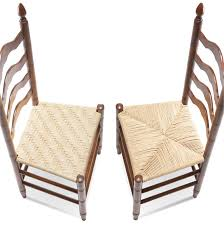 traditional woven chair seats