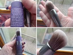 urban decay brushes. urban decay good karma optical blurring brush review brushes