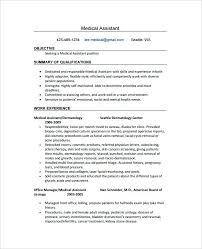 Medical Assistant Resume Objective Gorgeous Medical Assistant Resume Objective Trenutno