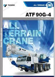 Tadano 110 Ton Atf90g 4 Load Chart User Manuals User Manual