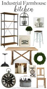 an industrial farmhouse kitchen details at theturquoisehome com